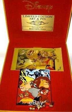 RARE LE 100 Jumbo Disney PinThe Lion King Mufasa Simba Nala Scar Circle of Life