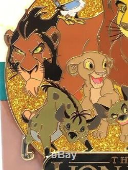 Rare Disney DEC Disney Employee Center Lion King Cluster Pin LE 250
