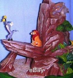 Rare Disney Lion King Statue
