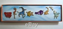 Rare Disney THE LION KING I CAN'T WAIT TO BE KING Pin Collection Set NIB LE 1000