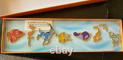 Rare Disney The Lion King I Can't Wait To Be King Pin Collection Set Nib Le