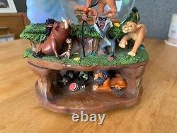 Rare Disney circle of life lion king snow globe, collectable item