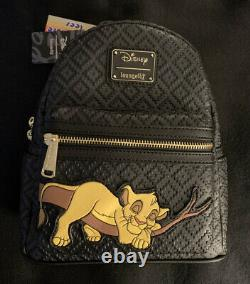 Rare Loungefly Sleeping Simba Lion King Disney Mini Backpack LE 600 IN HAND