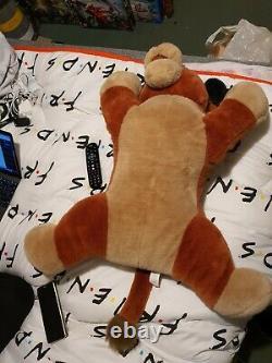 Rare big jumbo huge kovu soft plush toy the lion King