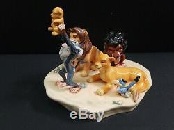 Royal Doulton Disney Lion King Circle of Life Porcelain Figurine LE