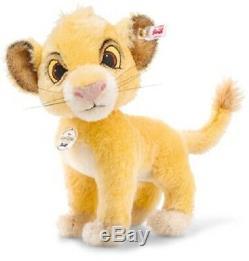 SAVE! Steiff SIMBA Disney THE LION KING 10 Mohair 2019 LtdEd 355363 NEW
