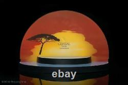 SWAROVSKI DISNEY Lion King Sunset Display 2010 1075953