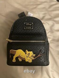Sleeping Simba Lion King Disney Mini Backpack LE 600 Loungefly NWT WDW