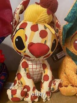 Stitch Crashes Disney Beauty And The Beast + Lady + The Lion King Plush Bundle