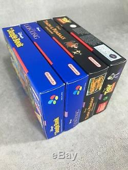 Super Pack 4x Disney´s Snes Lion King, Toy Story, Timon & Pumbaa´s, Jungle Book