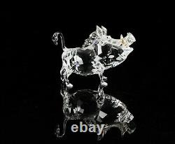 Swarovski Crystal -pumba- Disney Lion King Figure Ornament 1049784, Boxed