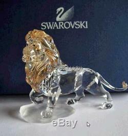 Swarovski Disney Lion King Mufasa Lion 1048265 Mint Boxed Retired Rare