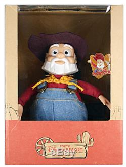 TOY STORY STINKY PETE PROSPECTOR DOLL WOODY'S ROUNDUP Japan TDL Limited NIB