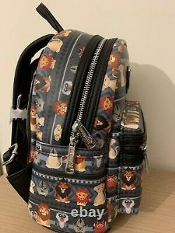 TRUSTED Loungefly Disney The Lion King Tribal Chibi Mini Backpack BRAND NEW