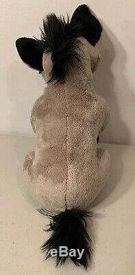 The Lion King Ed & Shenzi Hyena Disney Store STAMPED 2011 RARE 14 Plush Stuffed