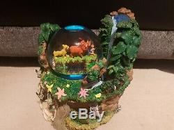 The Lion King Limited Edition Disney Store Snowglobe No 380 of 800