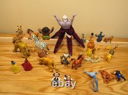 The Lion King Pride Rock Playset 1994 + Jungle Book 2 + 25 Figures Mattel Disney
