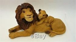 The Lion King Sandicast Disney Sculptures by Sandra Brue Incomplete