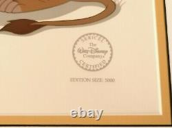 The Lion King Sericel Cel Limited Edition 5000 Walt Disney Rafiki and Simba COA