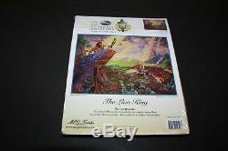Thomas Kinkade Disney Dreams Collection The Lion King Cross Stitch Kit BRAND NEW