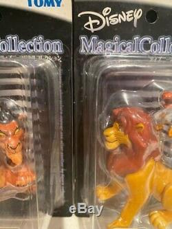 Tomy Disney Magical Collection Lineup LION KING SCAR 99 & SIMBA 94 Figure Japan