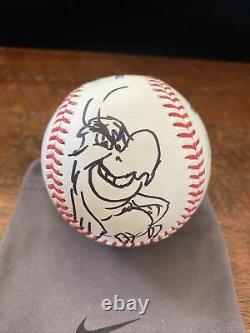 Tony Bancroft Signed Sketch Baseball PSA DNA Coa Disney Animator Lion King