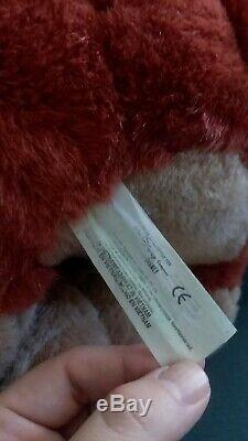 UK Exclusive Sitting Kovu Lion King Stuffed Disney Plush Htf Rare Vhtf