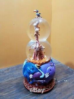 VIDEO Disney Lion King Giraffe Simba Rotate Double Bubble Music Water Snow Globe