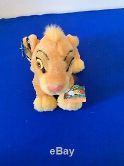 VINTAGE Disney Applause The Lion King Simba FAMILY Plush Stuffed Animals