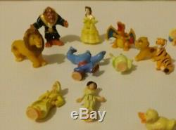 VINTAGE POLLY POCKET Figures JOB JOT X 36 Disney Aladdin Lion King Pokemon More