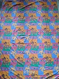 VTG Disney Lion King Kovu Kiara Duvet Cover Sheets Simba Fabric Fairy Kei Kawaii