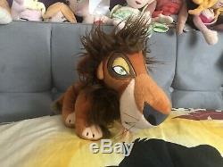 Very Rare Sega Plush Prize Lion King Scar Japan 2005