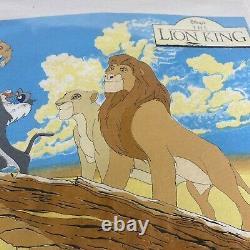 Vintage 1994 Disneys The Lion King Burger King Promo Shirt L Aladdin Toy Story