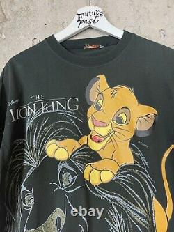Vintage 1994 Lion King Disney Movie Promo Tee Shirt Size Large