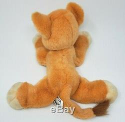 Vintage 1998 Disney Simba's Pride Purring Kiara Lion King Stuffed Animal Plush