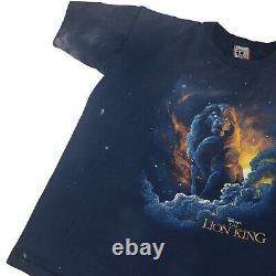 Vintage 90s Disney Lion King 1994 Movie Promo T Shirt Tee Sz Large Single Stitch