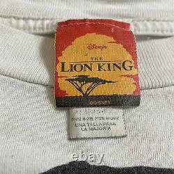Vintage 90s Disneys Lion King Simba Remember Who U Are Allover T-shirt