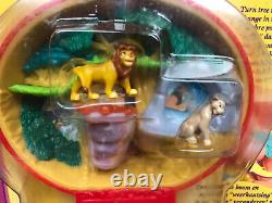 Vintage Disney's Lion King Playcase Bluebird Compact Polly Pocket 1996 NEW NoC