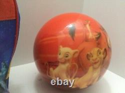 Viz-A-Ball KRC1239 The Lion King Youth Bowling Ball With Disney Bag New Undrilled