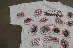 Vtg 90s Disney The Lion King Movie Timon's Deli Single Stitch Shirt XL