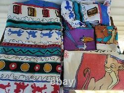 Vtg Disney The Lion King Full Size Comforter Set Sheets Pillowcases 8 Pieces'94