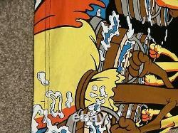 Vtg Mickey Mouse Fantasia Disney T Shirt 90s All Over Print Aladdin Lion King XL