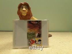 WDCC Disney Lion King Simba's Pride 5th Anniversary Edition with COA & Box