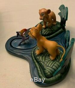 WDCC Simba Nala Zazu Set with Base Disney Lion King Limited Edition #d 342/1994