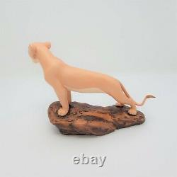 WDCC The Lion King Nala's Joy 5th Anniversary Sculpture Figure With COA & Box