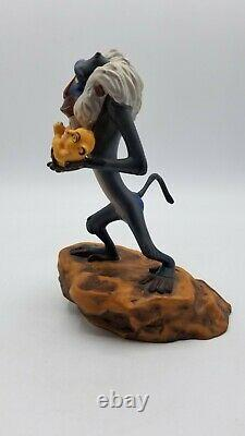 WDCC The Lion King Rafiki with Cub The Circle Continues Figurine with Box & COA