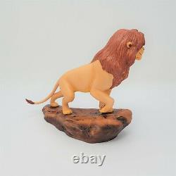 WDCC The Lion King Simbas Pride 5th Anniversary Sculpture With COA & Box NICE