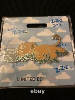 WDI D23 2019 Cat Nap pin Lion King Nala Cub Baby Simba LE 300 Disney MOG Htf