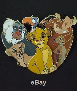 WDI Disney Character Cluster Lion King LE 250 Pin Cast Member Exclusive