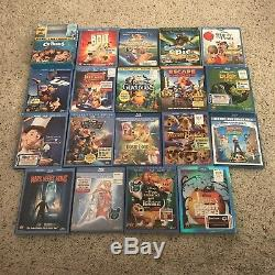 Walt Disney/Childrens DVD/Blu-ray 72 Disc Lot Lion King, Tangled, Dumbo
